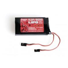 Radiobattery LiPo 1S3P/9000 3,8V 34,2Wh