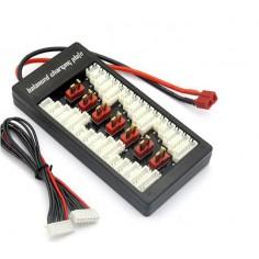 Li-Po parallel charging board 2-6S T-deans