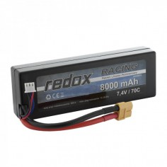 Redox 8000mAh/7.4V 70C Li-Po akumuliatorius