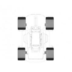 Robomaster S1 - CNC Wheel Fender