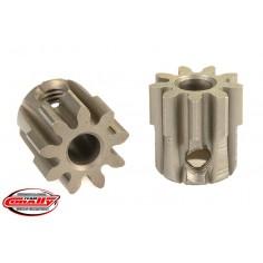 32DP Pinion - Short - Hardened Steel - 9 Teeth - Shaft Dia. 3.17mm