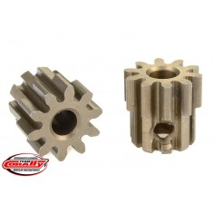 32DP Pinion - Short - Hardened Steel - 10 Teeth - Shaft Dia. 3.17mm