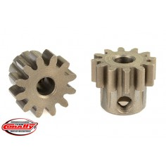 32DP Pinion - Short - Hardened Steel - 12 Teeth - Shaft Dia. 3.17mm