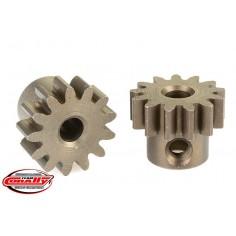 32DP Pinion - Short - Hardened Steel - 13 Teeth - Shaft Dia. 3.17mm