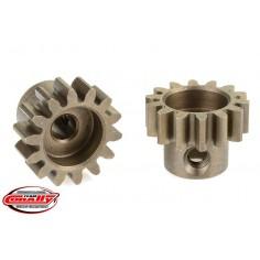 32DP Pinion - Short - Hardened Steel - 14 Teeth - Shaft Dia. 3.17mm