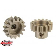 32DP Pinion - Short - Hardened Steel - 15 Teeth - Shaft Dia. 3.17mm