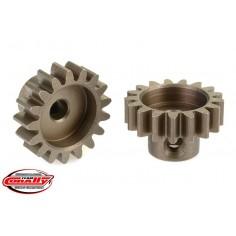 32DP Pinion - Short - Hardened Steel - 17 Teeth - Shaft Dia. 3.17mm
