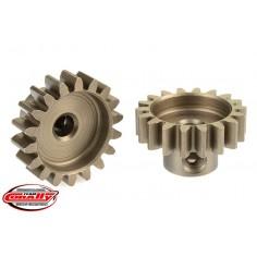 32DP Pinion - Short - Hardened Steel - 18 Teeth - Shaft Dia. 3.17mm