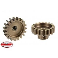 32DP Pinion - Short - Hardened Steel - 19 Teeth - Shaft Dia. 3.17mm