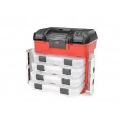 Pit Case - 4 Assortment Box Drawers - Universal Pre-Cut Foam