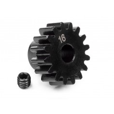 Pinion gear 16 tooth (1M/5mm shaft)