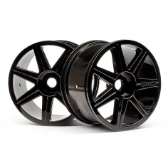 7 Spoke Black Chrome Trophy Truggy Wheel