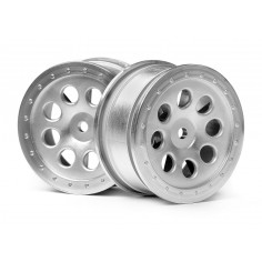 ST-8 Wheel matte chrome (0mm Offset/2pcs)