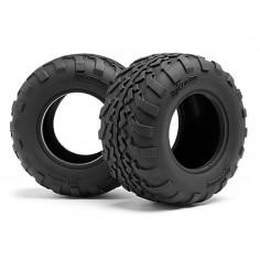 Gt2 Tires D Compound (2.2In/109X57mm/2pcs)