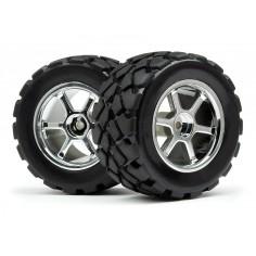Mounted VT tire/wheel set (4pcs)