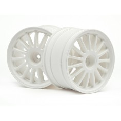 WR8 tarmac wheel white