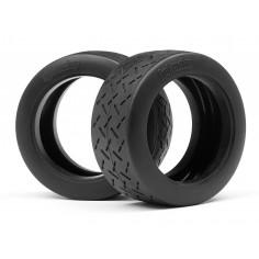 WR8 tarmac tire d comp (57x80mm/2pcs)