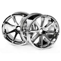 Blast wheel chrome/savage 115x70mm/7/2pcs
