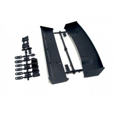 Molded wing set (2types) 1/10 scale/black