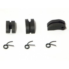 PTFE CLUTCH SHOE/SPRING SET 3 PCS/EACH