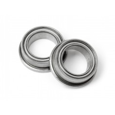 Ball bearing 1/4x3/8 in.flanged (2pcs)