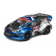 CLEAR RALLY BODY WITH DECALS (ION RX)