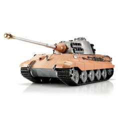 TORRO tank PRO 1/16 RC Kingtiger unpainted - infra