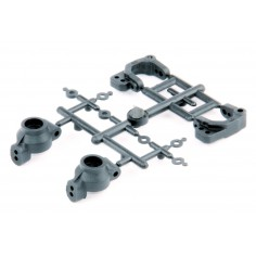 LRP S10 Twister Front C-Hub & Rear Hub Carriers 124009