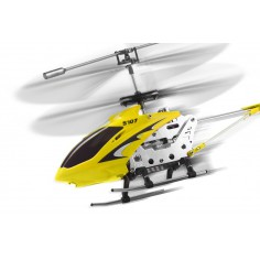 S107G 3CH microhelicopter yellow