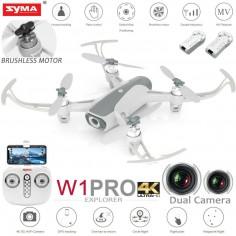 SYMA W1 PRO Brushless dronas 4K, GPS, FPV WIFI