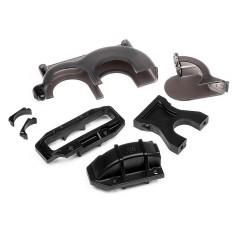Center bulkhead/spur gear cover set