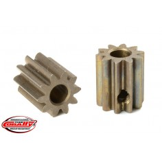 M0.6 Pinion - Short - Hardened Steel - 10 Teeth - Shaft Dia. 3.17mm