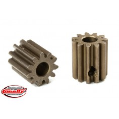 M0.6 Pinion - Short - Hardened Steel - 11 Teeth - Shaft Dia. 3.17mm