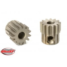 M0.6 Pinion - Short - Hardened Steel - 13 Teeth - Shaft Dia. 3.17mm