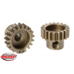 M0.6 Pinion - Short - Hardened Steel - 19 Teeth - Shaft Dia. 3.17mm