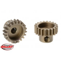 M0.6 Pinion - Short - Hardened Steel - 20 Teeth - Shaft Dia. 3.17mm