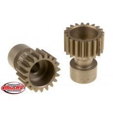 Team Corally - 48 DP Pinion – Long – Hardened Steel – 19 Teeth - o3.17mm