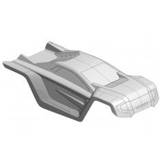 Polycarbonate Body - Shogun XP 6S - Clear - Cut - 1 pc