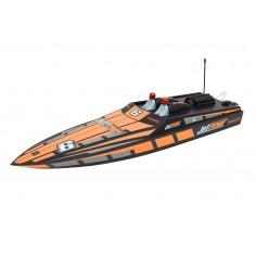 2306 JetPower A speed boat - orange RTR