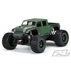 Pre-Cut Jeep Gladiator Rubicon Clear Body for X-MAXX