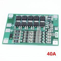 BMS 4s 16,8V LiPo/Li-Ion 40A 3.7V
