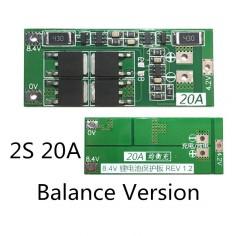 BMS 2s 8.4V LiPo/Li-Ion 20A...