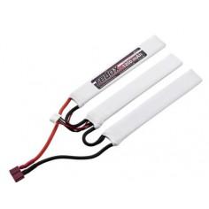 Redox ASG Aisoft 2400mAh/11.1V 20C (1+1+1)Li-PO, T-Plug Deans