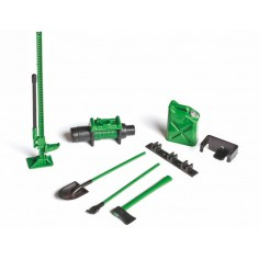 Offroad-Set (green) Scale 1:10
