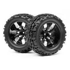 Complete wheel, 1:10 MT Monster (2pcs)