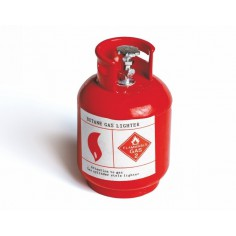 Gas cylinder Scale 1:8 (red)