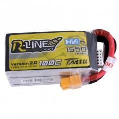 TATTU R-LINE HV 1550mAh / 15.2V 100C (200C max) su XT60