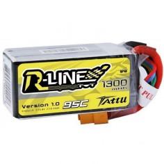 TATTU R-LINE 1300mAh / 18.8V 95C (190C max) su XT60