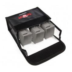 SunnyFire Safety Bag Mavic 2 - ugniai atsparus maišelis 3x akumuliatoriams