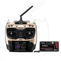 RadioLink AT9S 10CH 2.4GHz (Mode 2) su R9DS DSSS&FHSS imtuvu